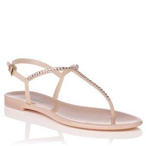 • L.K. Bennett Thong Jelly Sandals
